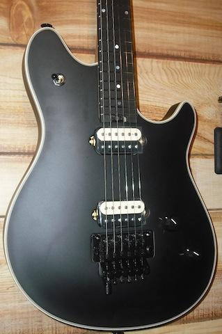 EVH® Wolfgang Ebony Stealth Guitar w/Case