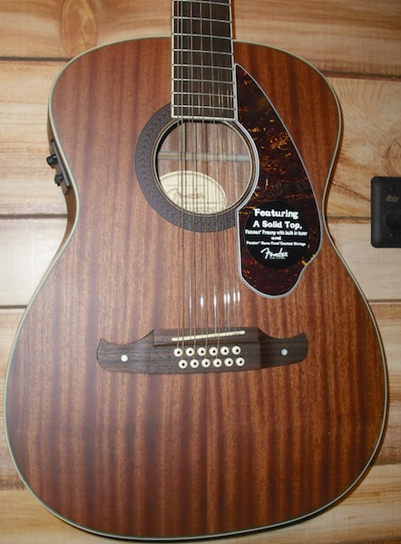 Fender® Tim Armstrong Hellcat 12-String Acoustic-Electric Guitar