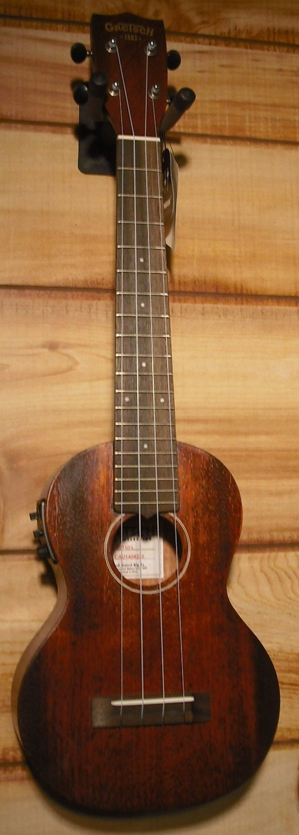 Gretsch® G9110-L Concert Long Neck Acoustic-Electric Ukulele w/Gigbag