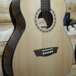 Washburn WF5K Folk Acoustic Guitar Natural w/Case