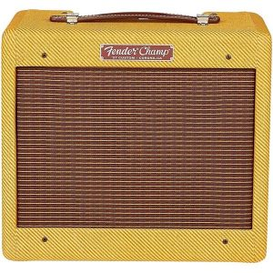 "Fender® '57 Custom Champ 1x8"" Combo Amp Lacquered Tweed"